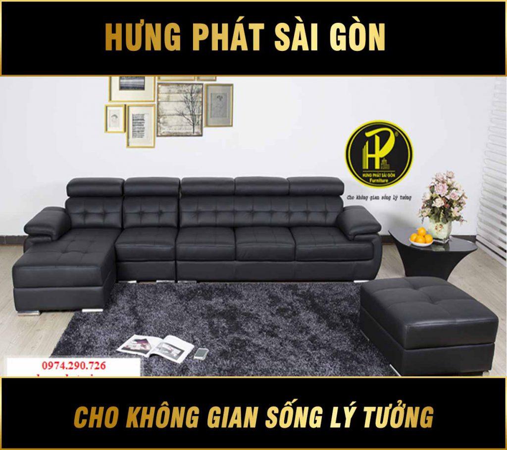 Sofa da cao cấp H-05