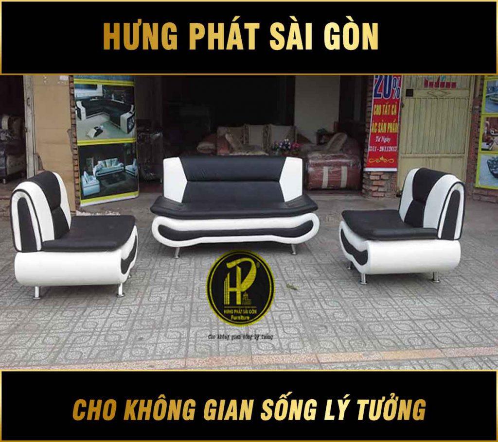 Sofa da cao cấp H-25