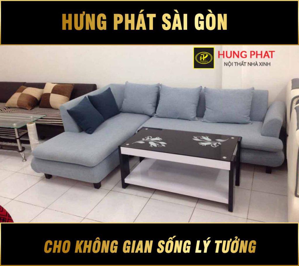Sofa góc đẹp giá rẻ H-208