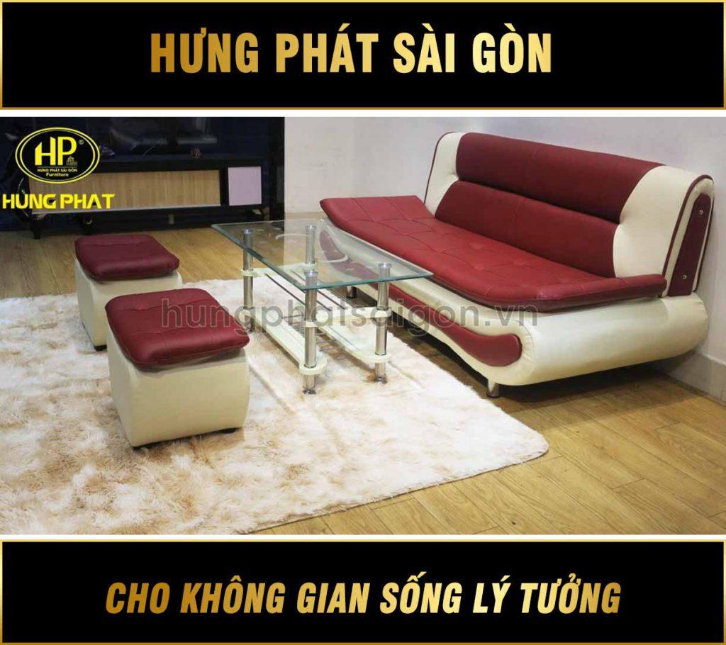 Sofa băng giá rẻ H-210