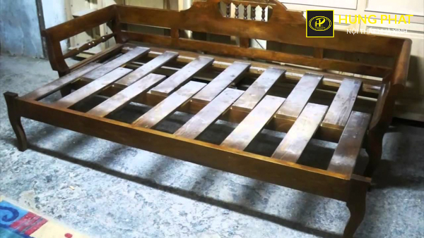 Mẫu Sofa Giường Gỗ Chất Lượng Gia Gốc Tại Xưởng Hưng Phat