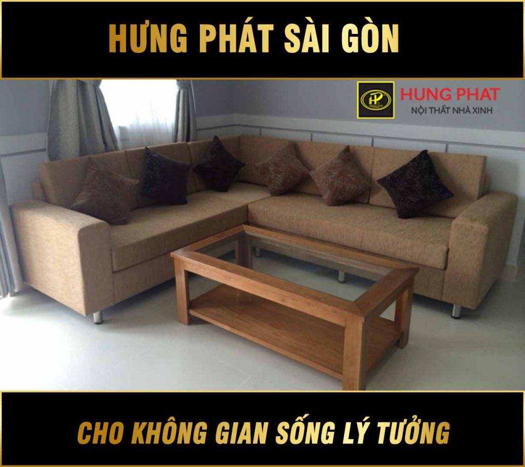 Sofa góc đẹp hiện đại mẫu mới H-213