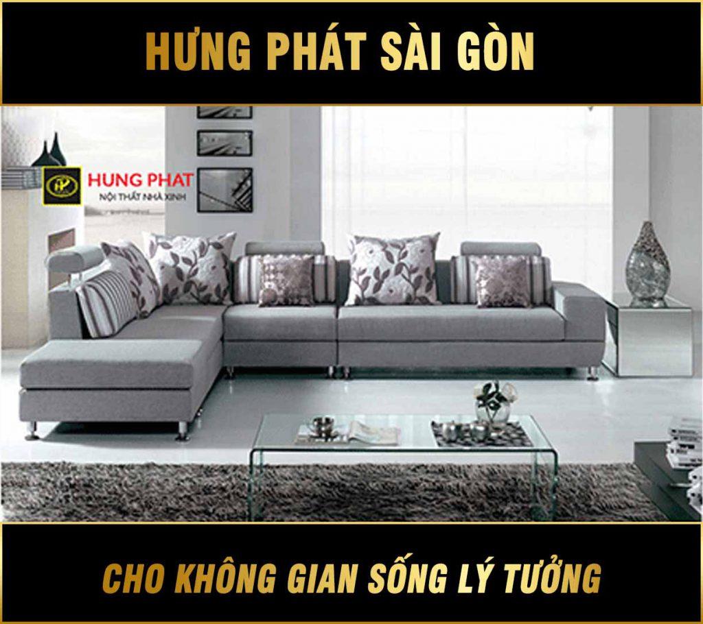 Sofa vải cao cấp H-221