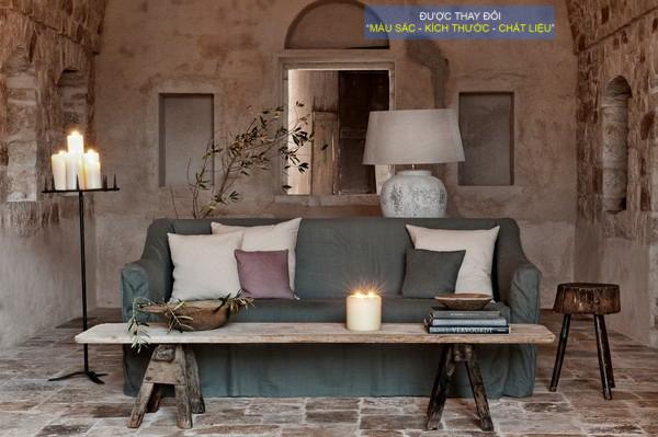 Ghế Sofa Vintage Thiết Kế Mới Sắc Thai Cực đẹp Hưng Phat