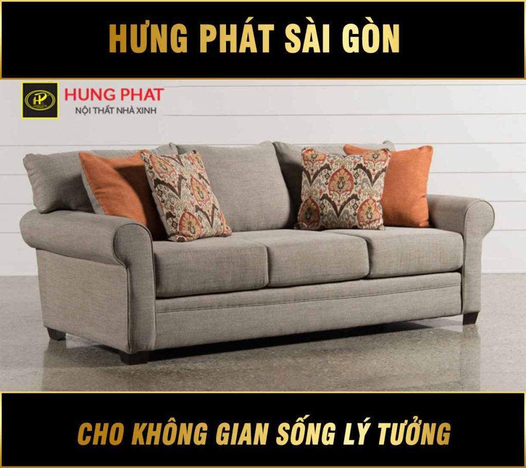 Sofa băng chung cư hiện đại H-227