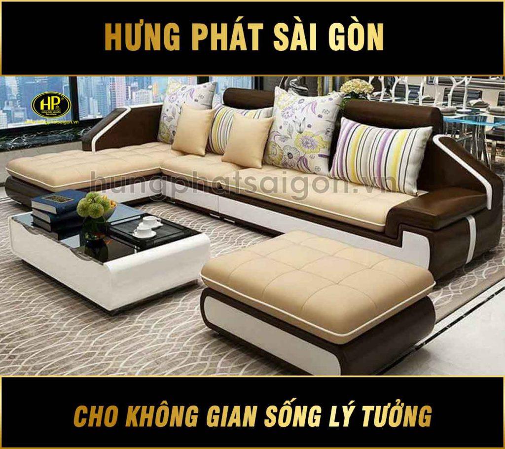 Sofa cao cấp HƯNG PHÁT H-07