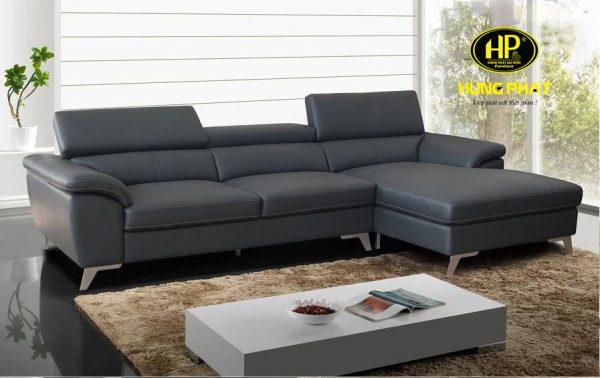showroom ghế sofa góc da chất liệu ngoại nhập tại ngô gia tự quận 10
