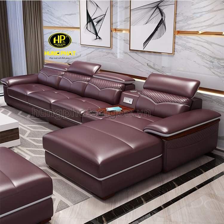 mua ghế sofa da thật màu đỏ cao cấp chất lượng tại ngô gia tự quận 10 tphcm