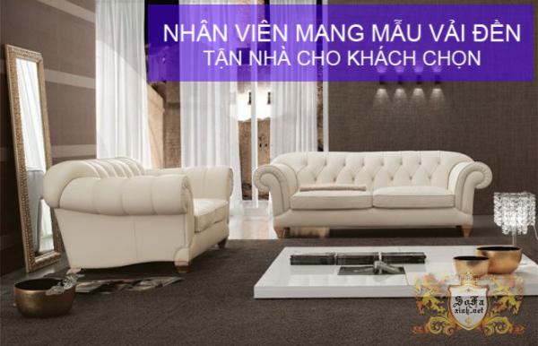 Sofa cổ điển giá rẻ phong cách Châu Âu đặt tại Xưởng P5
