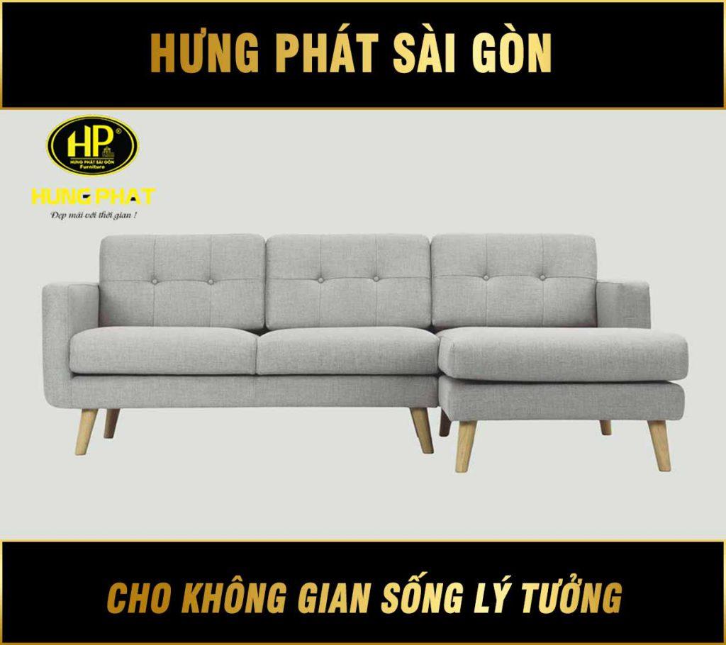 Sofa góc hiện đại cho chung cư H-268