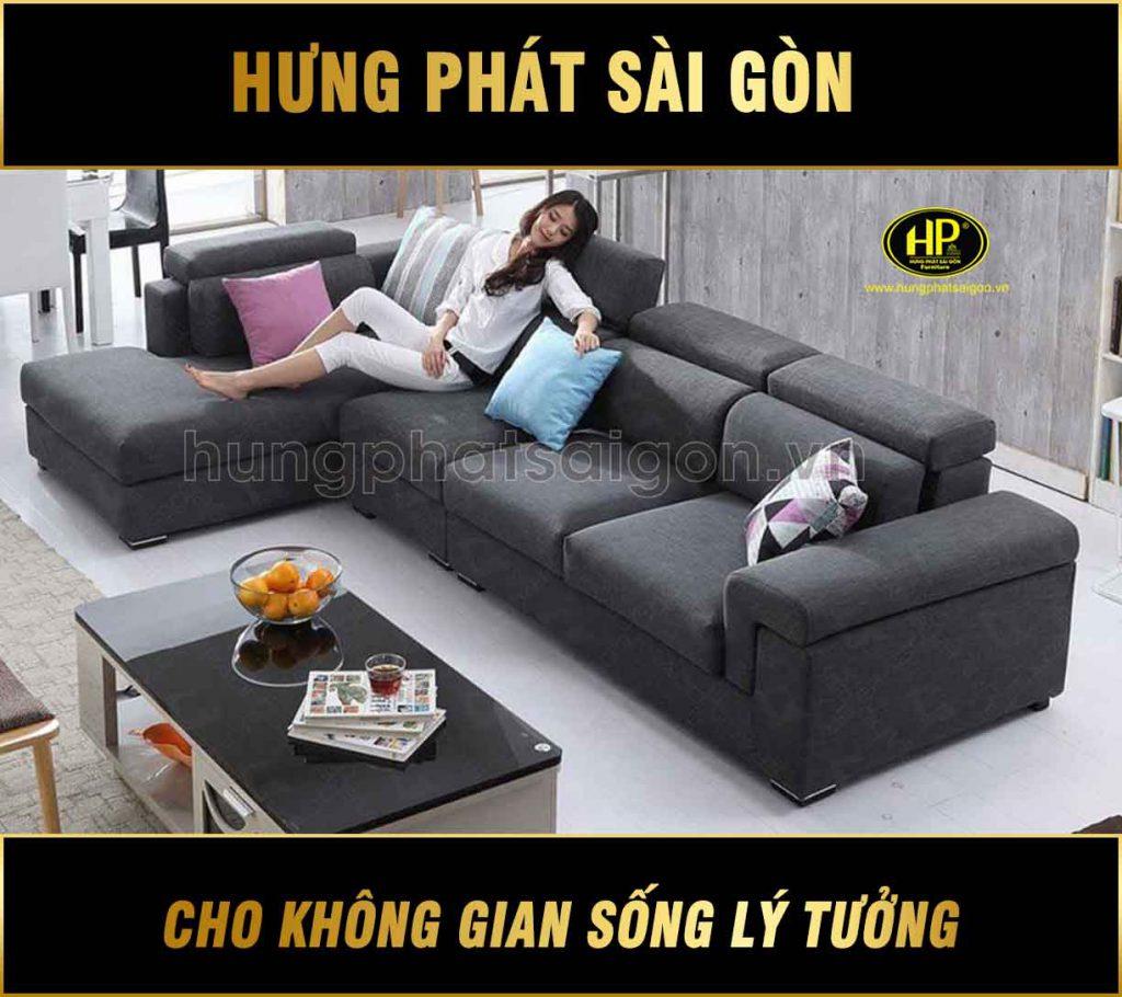 Sofa góc vải mùa giáng sinh H-277