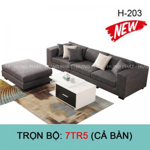 Sofa băng vải đẹp H-203