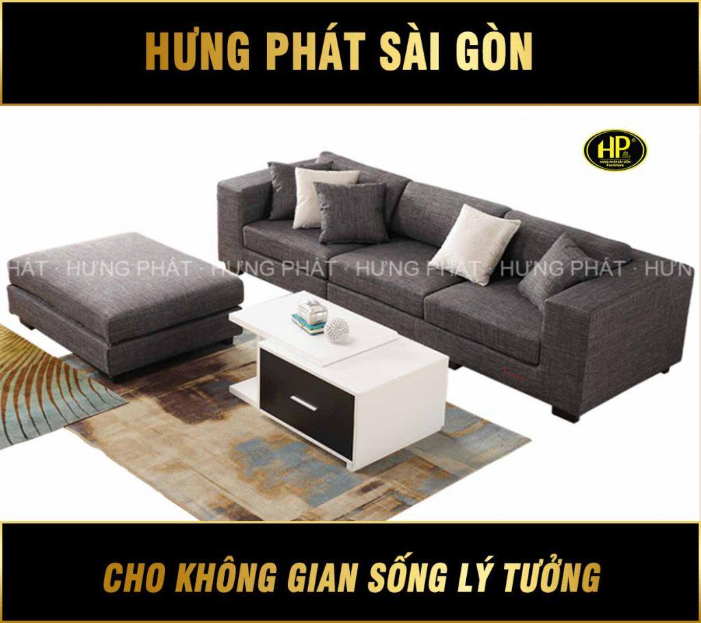 Sofa băng vải đẹp giá rẻ H-203