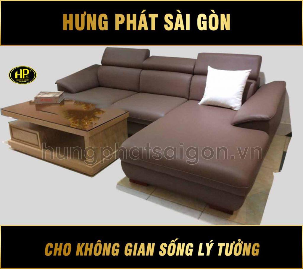 Sofa da Hưng Phát H-293