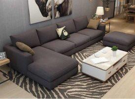 sofa vải sang trọng cao cấp