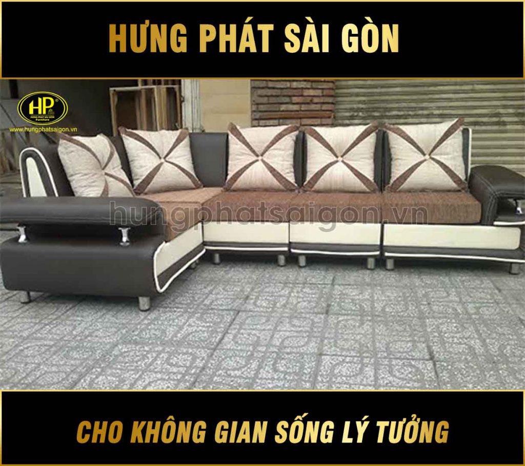 Sofa góc giá rẻ H-47