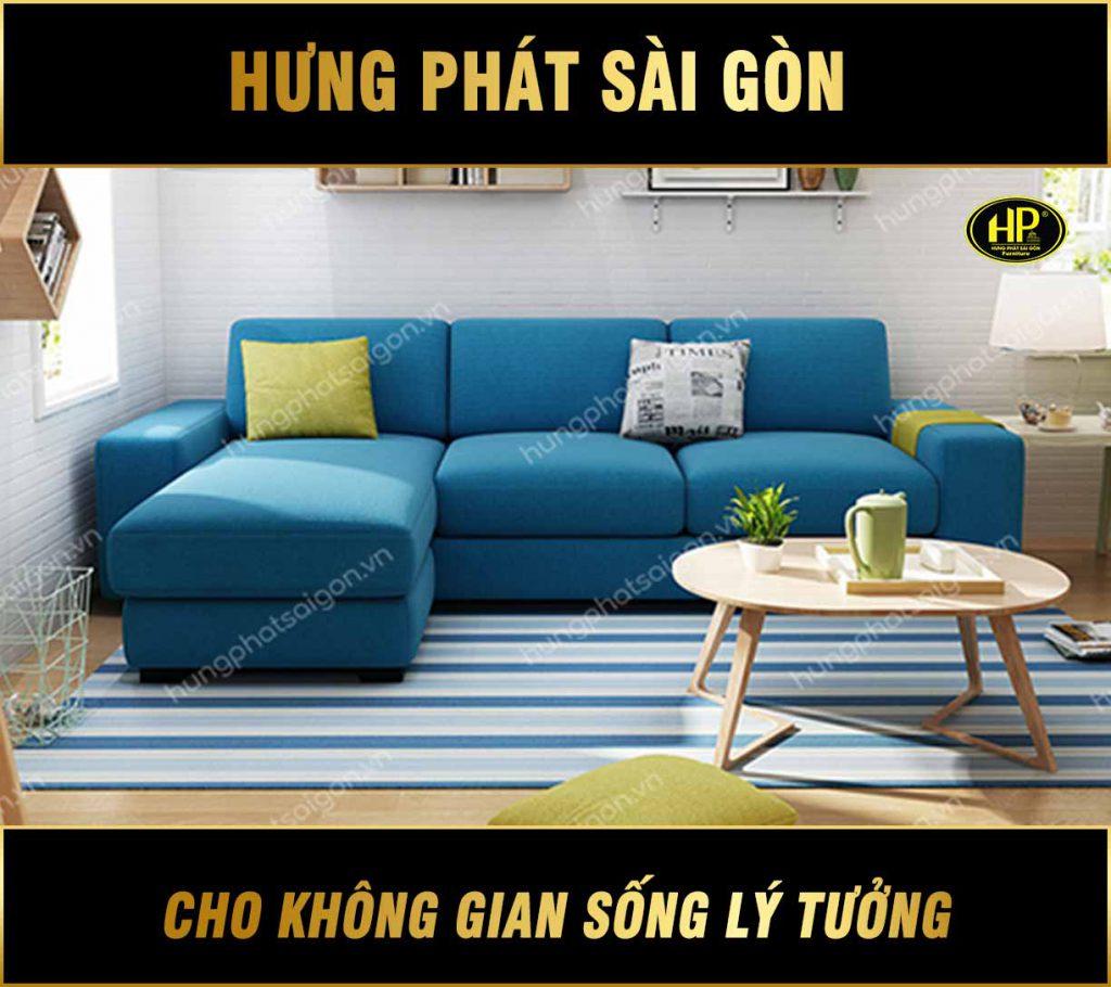 Sofa góc nhà đẹp H-400