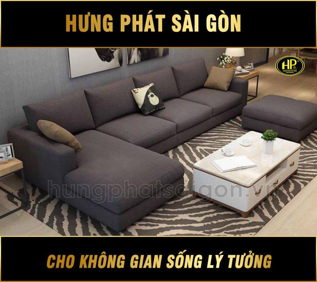 Sofa góc vải cao cấp H-278