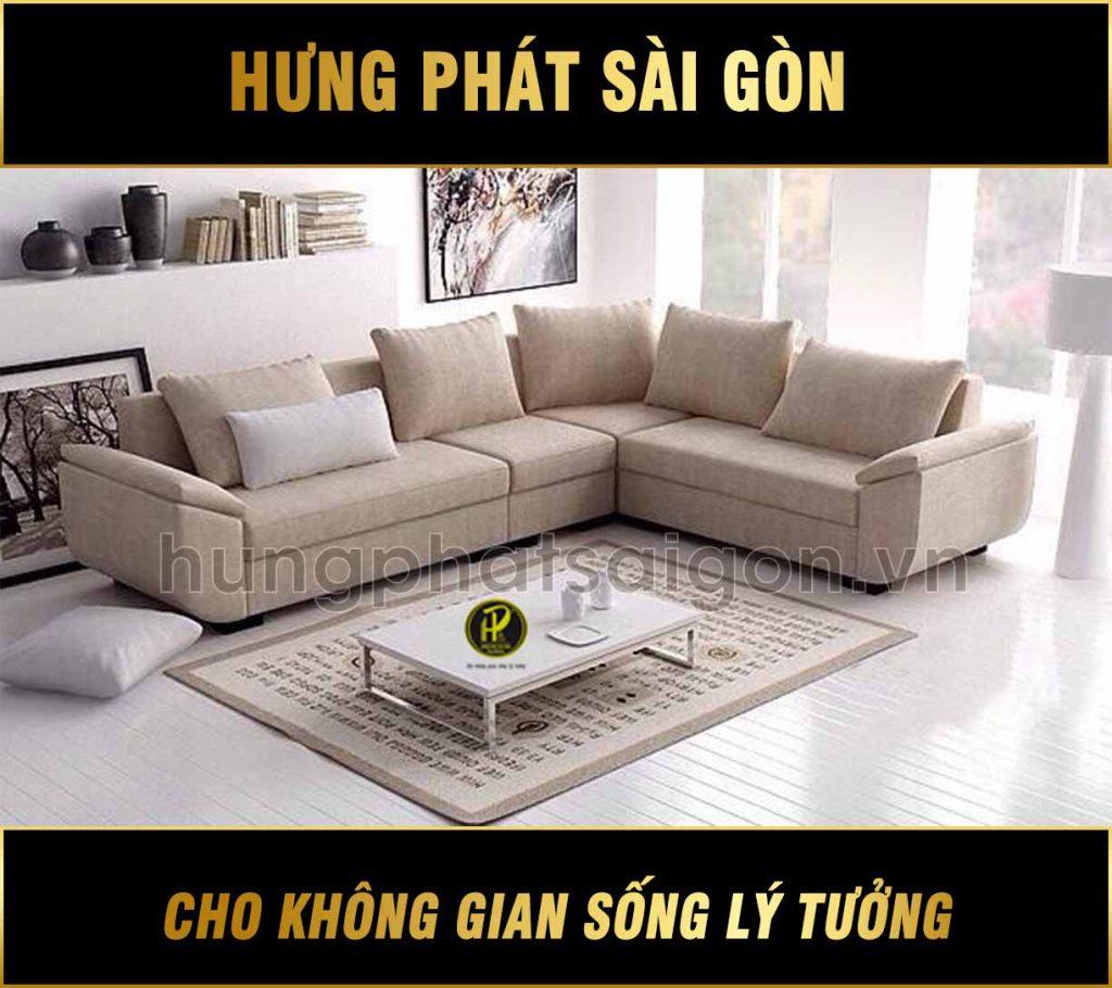 Sofa vải phòng khách hiện đại H-43