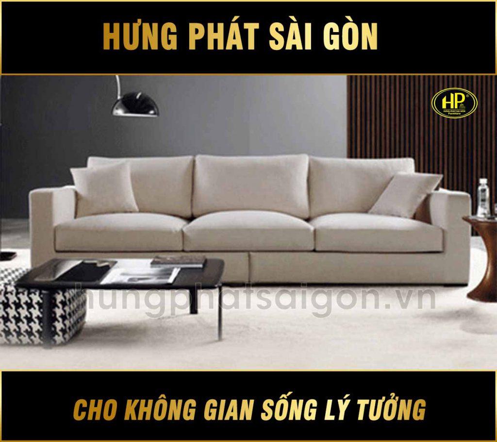 Sofa vải mới phong cách Bắc Âu hiện đại H-202