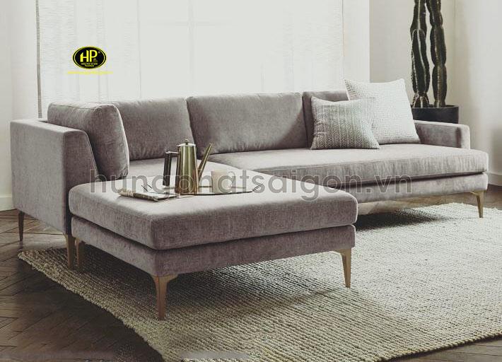 Sofa góc phòng khách vừa H-264
