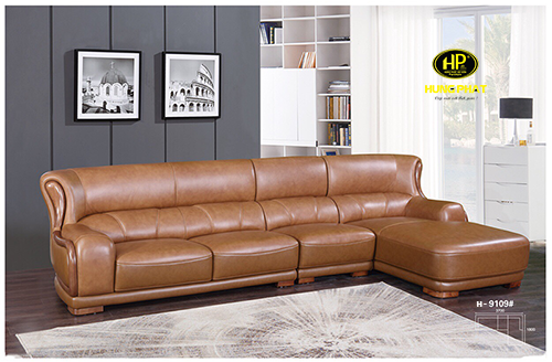 Sofa da bò cao cấp Hưng Phát H-9109