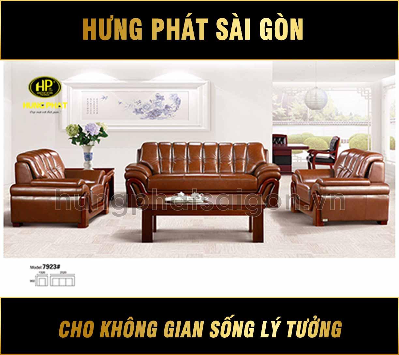 Sofa da văn phòng cao cấp H-7923