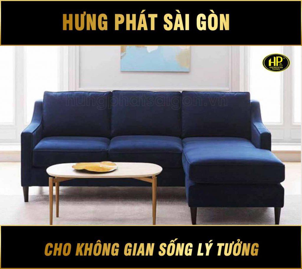 Sofa vải phòng khách chữ L H-666