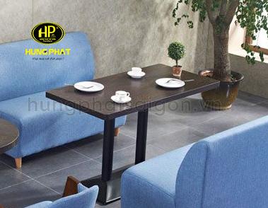Bàn sofa cafe chữ nhật B-02