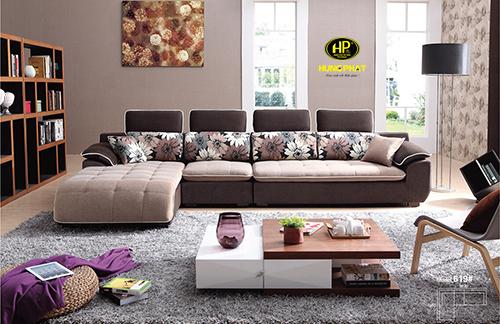 Sofa vải nhập khẩu H-619