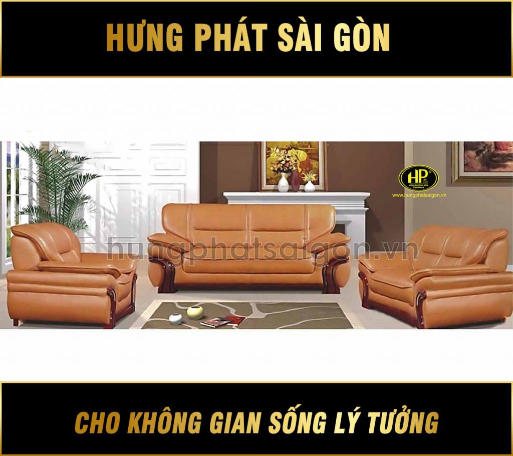 Sofa da văn phòng cao cấp HB-84