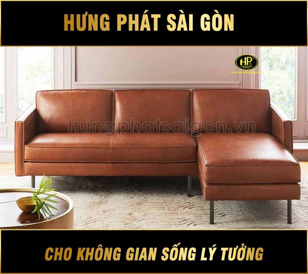 Sofa góc da H-67