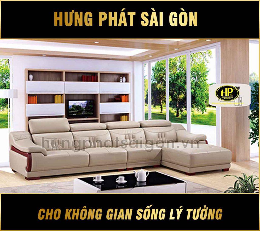Sofa da cao cấp nhập khẩu H-9052