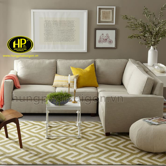 ghế sofa góc vải