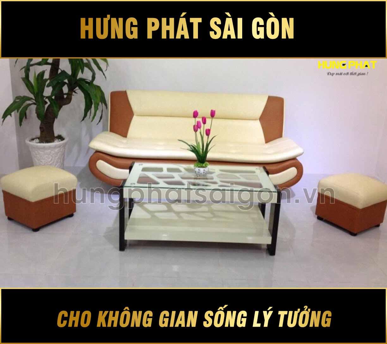 Sofa băng trọn bộ giá rẻ H-291
