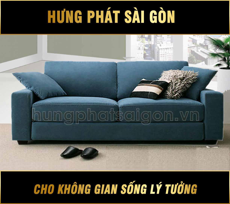 Sofa băng vải màu coban H-275