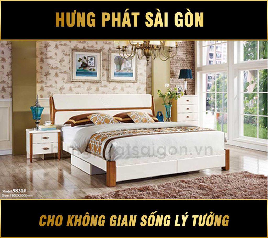Giường ngủ nhập khẩu G-9831