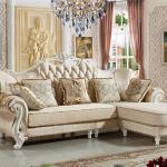 Tư vấn cách chọn kích thước sofa cổ điển chữ L tiêu chuẩn