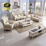 Tổng hợp 5 chất liệu bọc Sofa tân cổ điển cho phòng khách được ưa chuộng