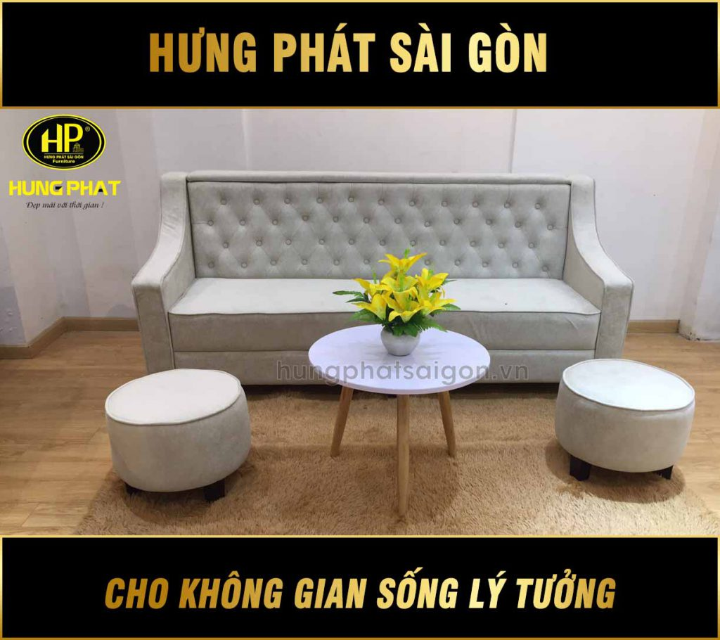 Sofa băng đẹp H-179