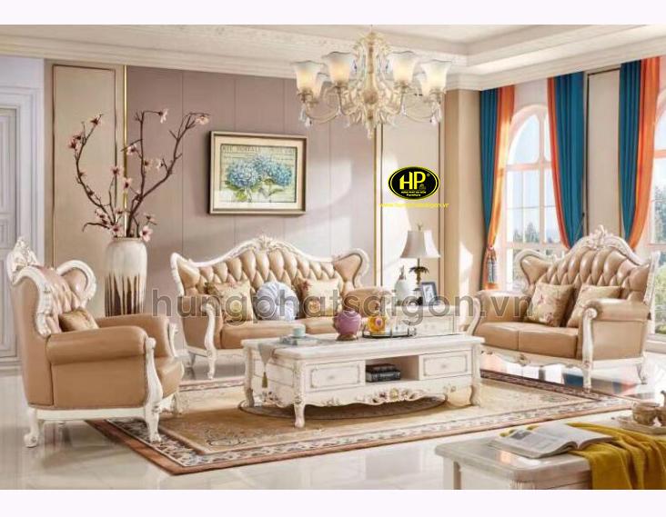 sofa cổ điển sang trọng chất lượng