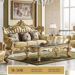 Những ưu điểm của bộ sofa tân cổ điển da tại Hưng Phát