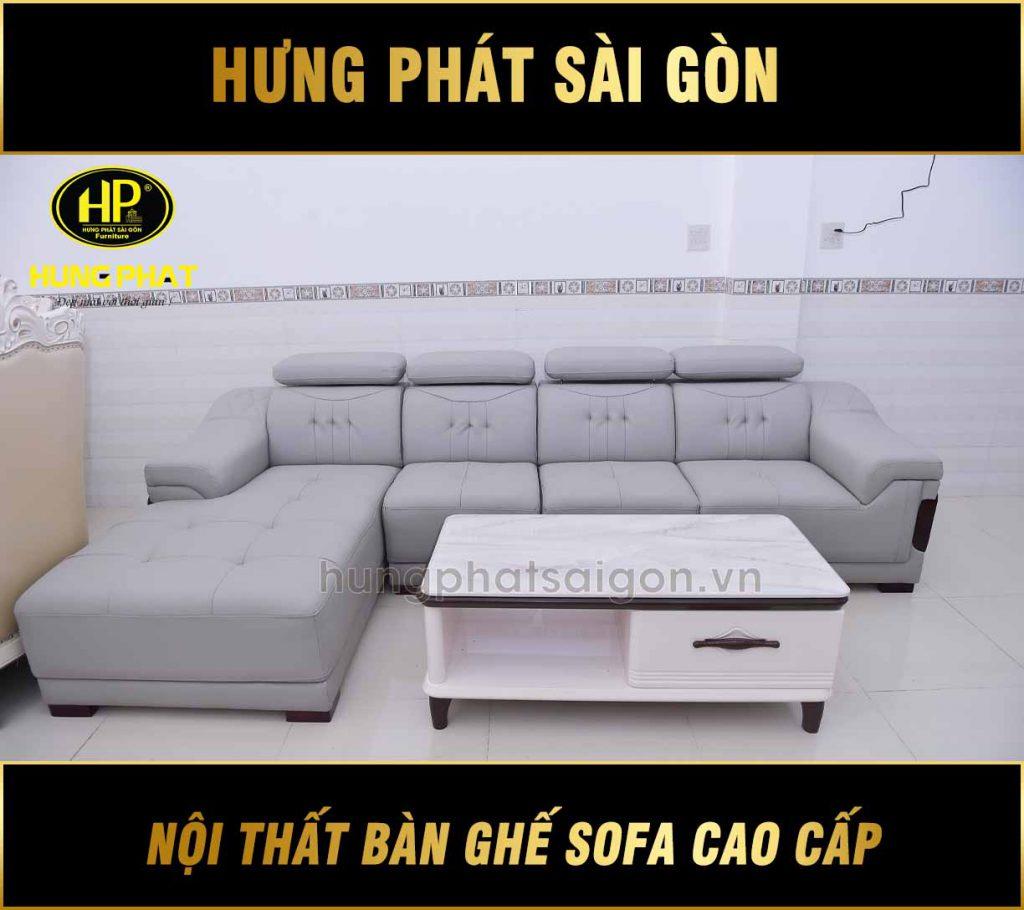 Sofa da H-9052A - Hưng Phát Luxury