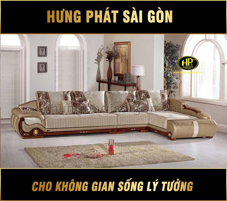 Sofa da cao cấp H-01