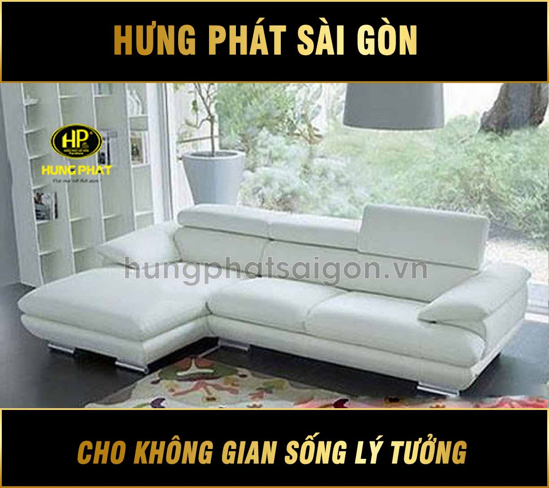 Sofa da cao cấp H-216