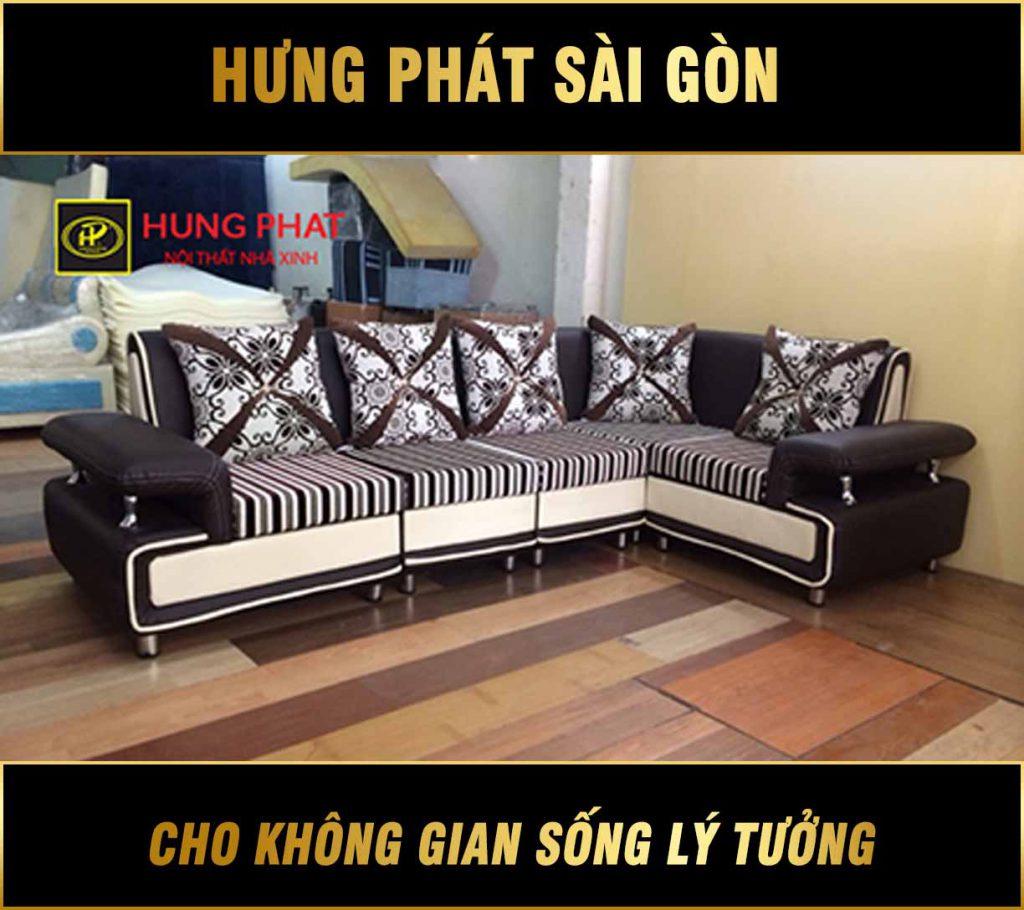 Sofa góc giá rẻ TPHCM H-48