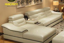 sofa da sang trọng