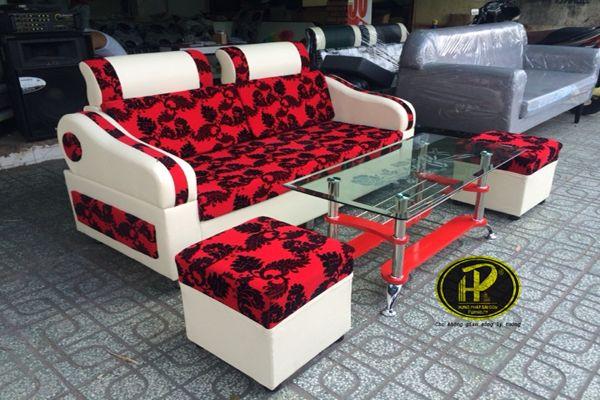 mẫu bàn ghế sofa phòng khách hợp phong thủy