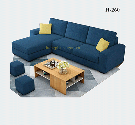 sofa phòng khách hiện đại đơn giản giá rẻ