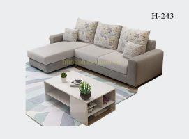 Sofa góc vải H-243